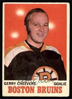 Gerry Cheevers [GOOD]