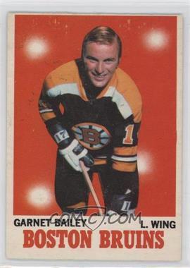 1970-71 O-Pee-Chee - [Base] #10 - Garnet Bailey