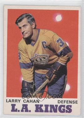 1970-71 O-Pee-Chee - [Base] #164 - Larry Cahan