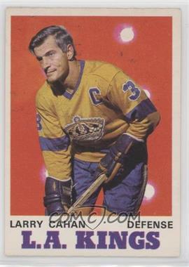 1970-71 O-Pee-Chee - [Base] #164 - Larry Cahan