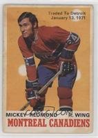 Mickey Redmond (Traded to Detroit) [GoodtoVG‑EX]