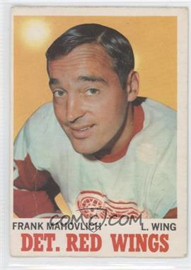 1970-71 O-Pee-Chee - [Base] #22 - Frank Mahovlich [Poor to Fair]