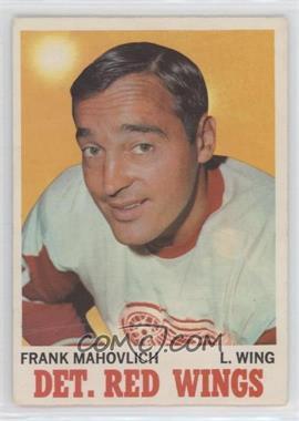 1970-71 O-Pee-Chee - [Base] #22 - Frank Mahovlich [Poor]