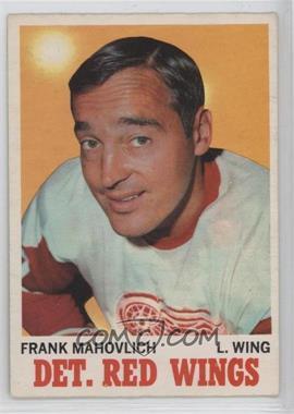 1970-71 O-Pee-Chee - [Base] #22 - Frank Mahovlich