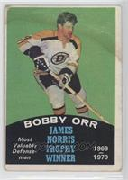 Bobby Orr (Gordie Howe Name on Back) [Poor to Fair]