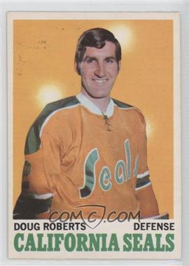 1970-71 O-Pee-Chee - [Base] #71 - Doug Roberts