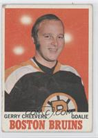 Gerry Cheevers [Noted]