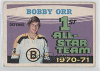 1st All-Star Team 1970-71 (Bobby Orr) [Poor to Fair]