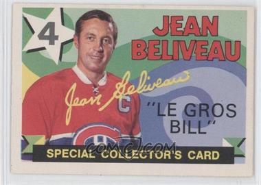 1971-72 O-Pee-Chee - [Base] #263 - Jean Beliveau