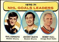 John Bucyk, Phil Esposito, Bobby Hull [EX]