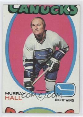 1971-72 Topps - [Base] #109 - Murray Hall [GoodtoVG‑EX]