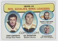 Tony Esposito, Ed Johnston, Gerry Cheevers, Ed Giacomin [Good to VG&#…