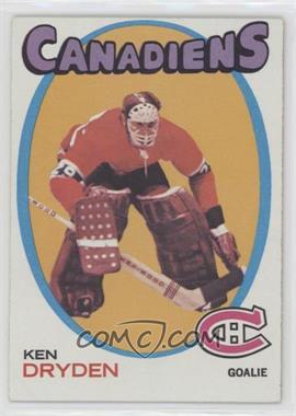 1971-72 Topps - [Base] #45 - Ken Dryden