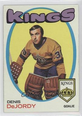 1971-72 Topps - [Base] #63 - Denis DeJordy