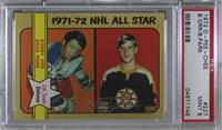 NHL All Star (Bobby Orr, Brad Park) [PSA 9 MINT]