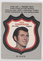 Paul Henderson [Good to VG‑EX]