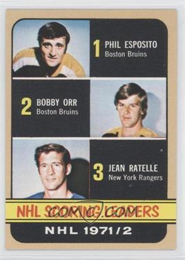 1972-73 Topps - [Base] #63 - Phil Esposito, Jean Ratelle, Bobby Orr