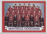 Montreal Canadiens Team (Dark Back)
