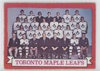 Toronto Maple Leafs Team (Dark Back)