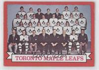 Toronto Maple Leafs Team (Dark Back) [Noted]