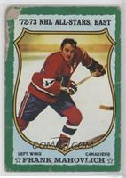 Frank Mahovlich (Dark Back) [NM]