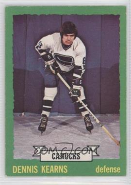 1973-74 O-Pee-Chee - [Base] #162 - Dennis Kearns