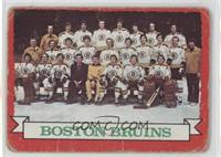 Boston Bruins Team (Dark Back) [Poor]