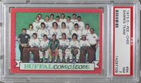 Buffalo Sabres Team (Dark Back) [PSA7NM]