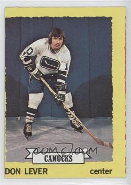 1973-74 Topps - [Base] #111 - Don Lever
