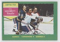 1972-73 NHL Quarter-Finals [Good to VG‑EX]