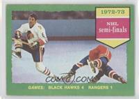 72-73 NHL semi-finals [Good to VG‑EX]