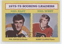 Phil Esposito, Bobby Clarke