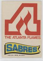 Atlanta Flames Team, Buffalo Sabres Logo