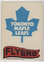 Toronto Maple Leafs Team, Philadelphia Flyers Team