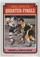 Boston Bruins Team, Toronto Maple Leafs Team [GoodtoVG‑EX]