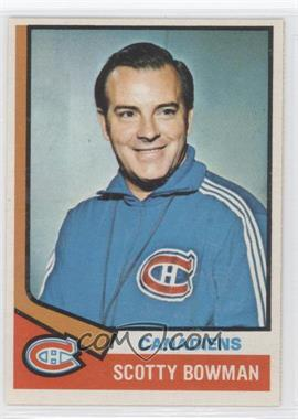 1974-75 O-Pee-Chee - [Base] #261 - Scotty Bowman