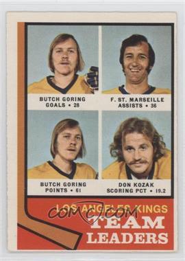 1974-75 O-Pee-Chee - [Base] #98 - Los Angeles Kings Team