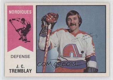 1974-75 O-Pee-Chee WHA - [Base] #18 - J.C. Tremblay