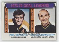 Phil Esposito, Bill Goldsworthy