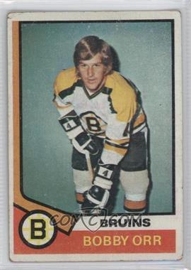 1974-75 Topps - [Base] #100 - Bobby Orr [GoodtoVG‑EX]