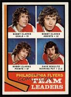 Bobby Clarke, Dave Schultz [NM]