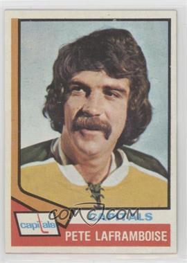 1974-75 Topps - [Base] #166 - Pete Laframboise