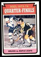 Boston Bruins Team, Toronto Maple Leafs Team [EX]