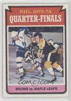 Boston Bruins Team, Toronto Maple Leafs Team