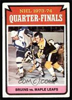 Boston Bruins Team, Toronto Maple Leafs Team [VG]