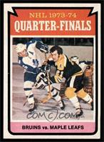 Boston Bruins Team, Toronto Maple Leafs Team [NMMT]