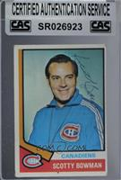 Scotty Bowman [CAS Certified Sealed]