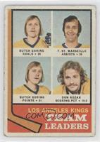Butch Goring, Frank St. Marseille, Don Kozak [Good to VG‑EX]