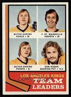Butch Goring, Frank St. Marseille, Don Kozak [NM]