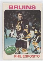 Phil Esposito (No trade mentioned on front)